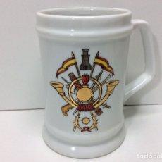 Militaria: JARRA MILITAR 12X12CM. Lote 202832746