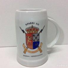 Militaria: JARRA MILITAR SPABRI VII GT DAENA BOSNIA HECERGOVINA 12X4CM. Lote 202832777