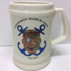 Militaria: JARRA MILITAR COMANDANCIA MILITAR DE MARINA 12X12CM. Lote 202832810