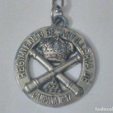 Militaria: LLAVERO DEL REGIMIENTO DE ARTILLERÍA DE CAMPAÑA. RACA 17.. Lote 202975880