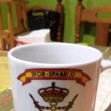 Militaria: TAZA - JARRA MILITAR - SFOR - BIMAR XI. Lote 203585591