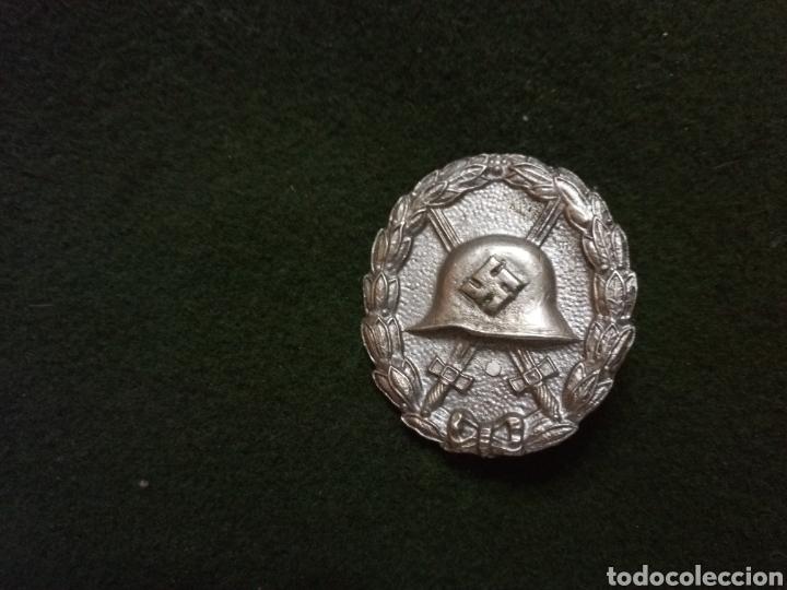 HERIDO EN PLATA LEGIÓN CONDOR (Militar - Reproducciones, Réplicas y Objetos Decorativos)