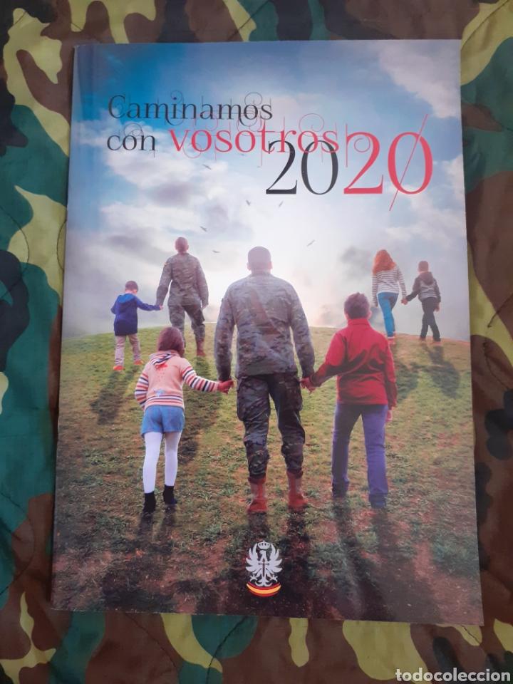 CALENDARIO AGENDA CAMINAMOS CON VOSOTROS 2020 EJÉRCITO DE TIERRA (Militar - Reproducciones, Réplicas y Objetos Decorativos)