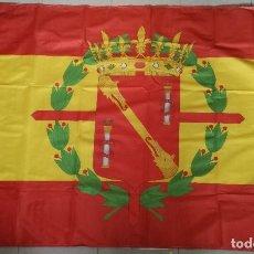 Militaria: BANDERA ESCUDO GENERALÍSIMO FRANCISCO FRANCO. 1939-1975. JEFE ESTADO ESPAÑOL. ESPAÑA. Lote 213547771