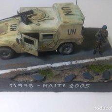 Militaria: DIORAMA MAQUETA- HUMMER-M 998-INFANTERIA DE MARINA ESPAÑOLA-HAITI 2005. Lote 205712216