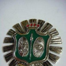 Militaria: PLACA DEL AÑO 1920 DE CUERPO DE VIGILANCIA DE LA POLICIA NACIONAL. Lote 207103208