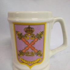 Militaria: JARRA. SEGUNDO BATALLÓN DEL REGIMIENTO DE ARTILLERÍA A PIE. AÑO 1710. RAMIX-4.. Lote 208058356
