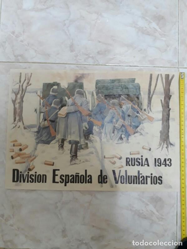 Militaria: CARTEL DE LA GUERRA CIVIL - Foto 3 - 208288361