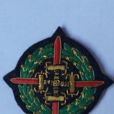 Militaria: BORDADO LAUREADA DE SAN FERNANDO EN CANUTILLO Y SEDAS . MED. 7CM. APROX.. Lote 283872388