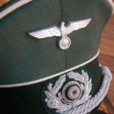 Militaria: GORRA ALEMANA DE OFICIAL DE INFANTERIA. TALLA 57. DIVISION AZUL. WEHRMACHT. SONDER KLASSE BERLIN. Lote 210466445