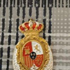 Militaria: REPRODUCCION PLACA ORIGINAL DIRECCIÓN GENERAL DE SEGURIDAD. Lote 212396841