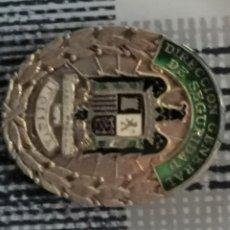 Militaria: PLACA DIRECCION GENERAL DE SEGURIDAD, POLICIA-REPLICA. Lote 212398195