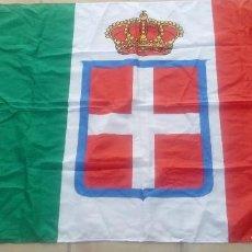 Militaria: BANDERA ITALIANA. 1ª Y 2ª GUERRA MUNDIAL. BANDERA CASA DE SABOYA,BANDERA REINO ITALIA.REPRODUCCIÓN.. Lote 212830250