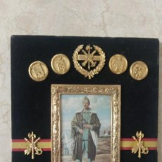 Militaria: METOPA DE LA LEGION COFUNDADOR FRANCISCO FRANCO CAUDILLO. Lote 213607771