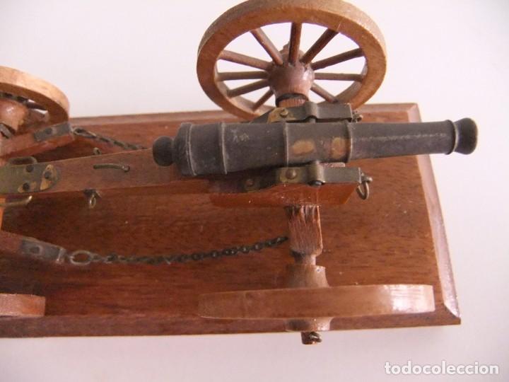 Militaria: cañon miniatura con armon - Foto 4 - 215066962