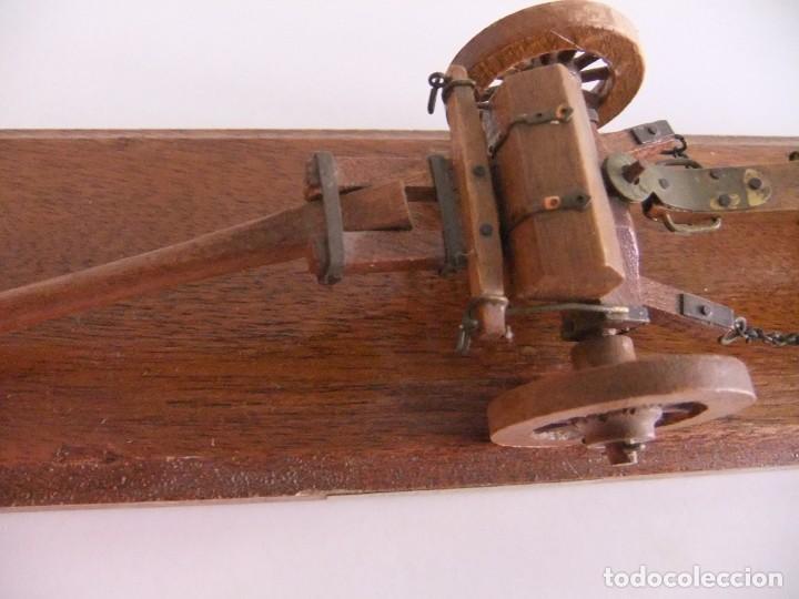 Militaria: cañon miniatura con armon - Foto 5 - 215066962