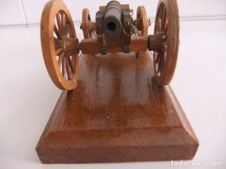 Militaria: cañon miniatura con armon - Foto 6 - 215066962