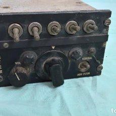 Militaria: PARA AVION SAETA HA 2000..CAJA DE CONTROL DE AUDIO..INTER. Lote 217650252