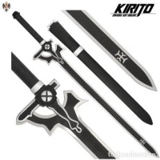 Militaria: ESPADA KIRITO SWORD ART ONLINE + VAINA ** AL 40% DTO. Lote 218003617
