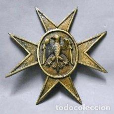 Militaria: CRUZ DE METAL CON AGUILA DEL EJERCITO FALTO DE METOPA - MET-206. Lote 218685301