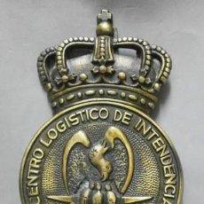 Militaria: BRONCE CENTRO LOGISTICO DE INTENDENCIA EJERCITO DEL AIRE FALTO DE METOPA - MET-210. Lote 218690608