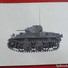Militaria: PANZERKAMPFWAGEN I AUSFÜHRUNG C (VK601). Lote 219264872