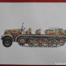Militaria: SCHWERER ZUGKRAFTWAGEN DB 10. Lote 219265335