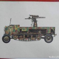Militaria: SELBSFAHRLAFETTE RK. Lote 219265533