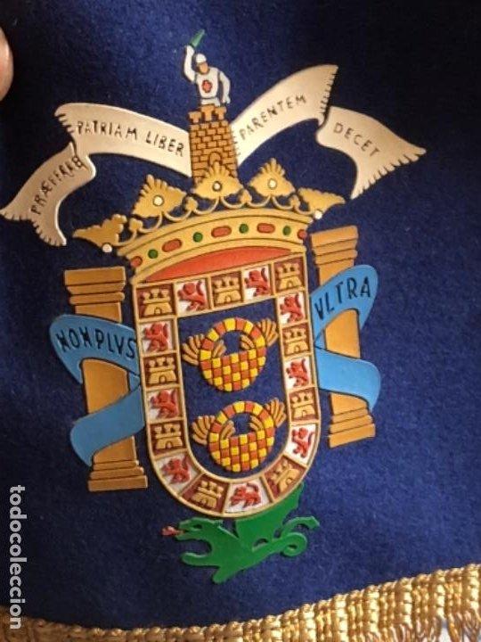 Militaria: Bonita banderola de mesa antigua, original - Foto 2 - 219320610