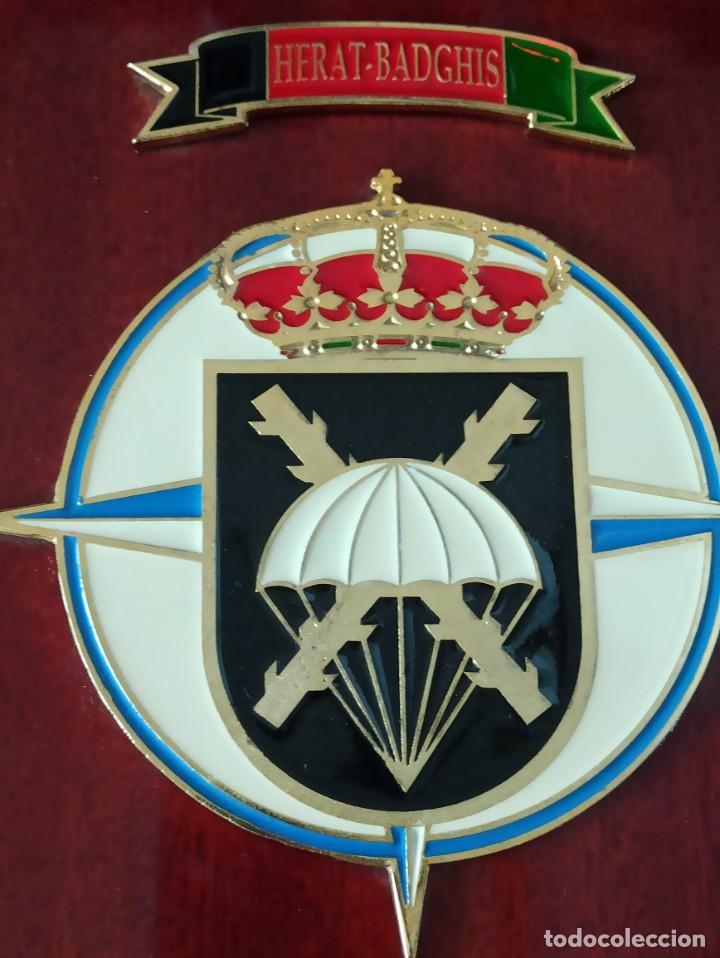 Militaria: METOPAS BRIGADA PARACAIDISTA ASPFOR XIV HERAT BADGHIS AFGANISTÁN - Foto 2 - 220748693