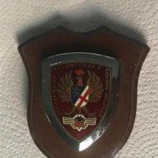 Militaria: ANTIGUA METOPA DE LA JEFATURA AUTOMÓVILES REGIÓN MILITAR V. Lote 220985343