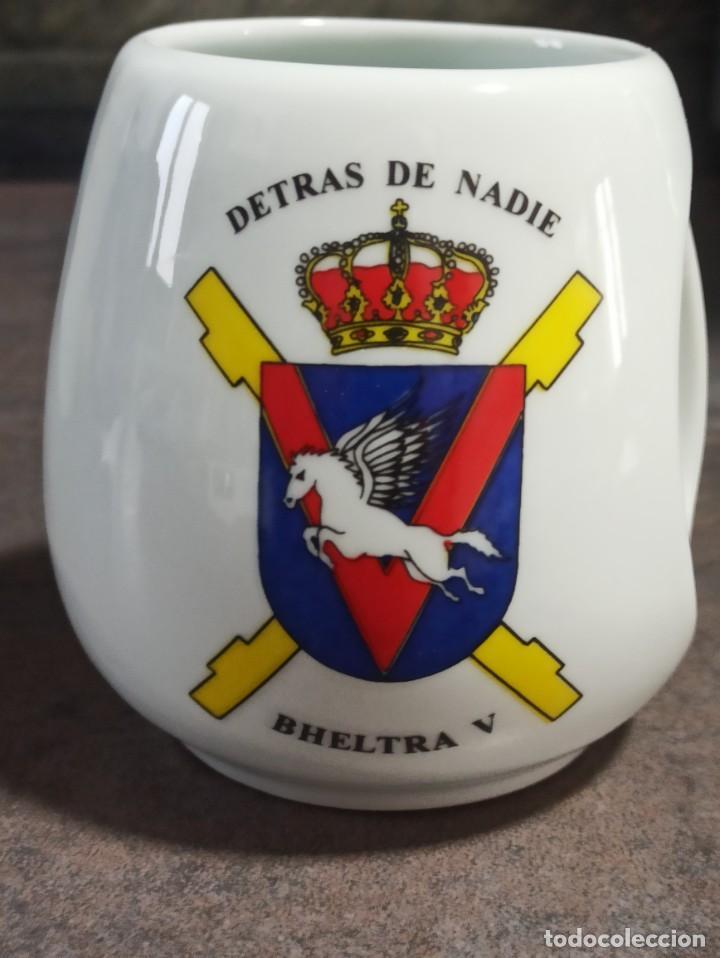 JARRA / TAZA BHELTRA V BATALLÓN DE HELICÓPTEROS DE TRANSPORTE V (Militar - Reproducciones, Réplicas y Objetos Decorativos)