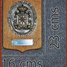Militaria: 119/659..METOPA F 85 FRAGATA NAVARRA. . . .MIDE 23 X 16 CMS . . . . PESA 0, 800 KGS.. Lote 222079956