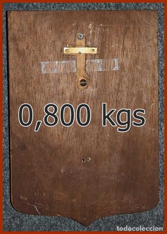 Militaria: 119/659..Metopa F 85 Fragata Navarra. . . .Mide 23 X 16 cms . . . . Pesa 0, 800 kgs. - Foto 3 - 222079956