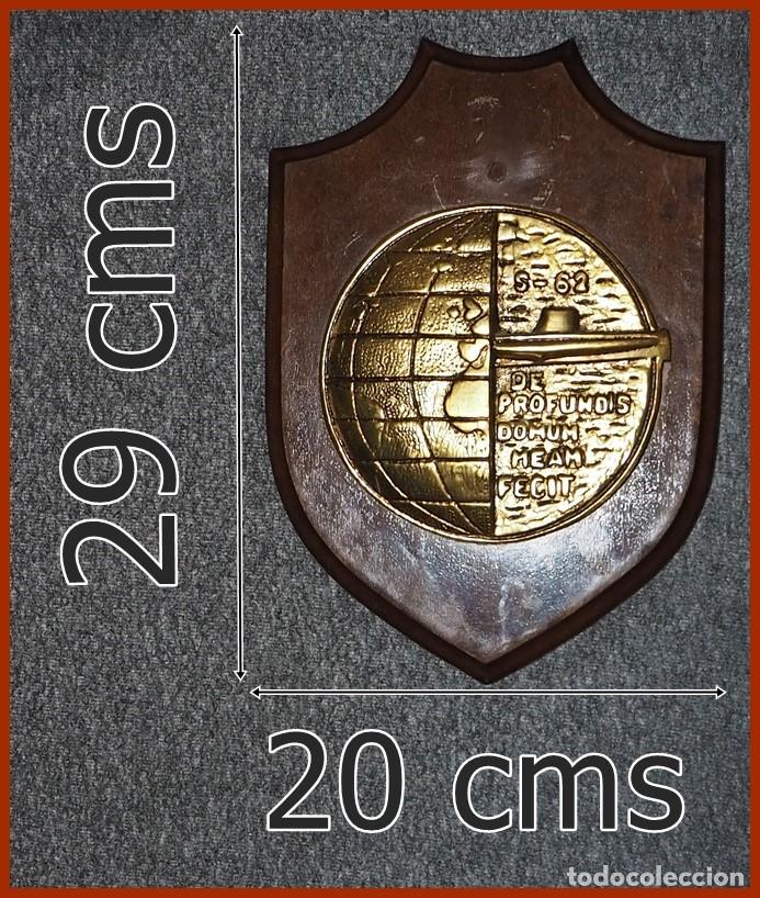 213/663..METOPA S 62 SUBMARINO TONINA....MIDE 29 X 20 CMS.....PESA 1, 500 KGS. (Militar - Reproducciones, Réplicas y Objetos Decorativos)