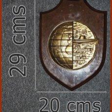 Militaria: 213/663..METOPA S 62 SUBMARINO TONINA....MIDE 29 X 20 CMS.....PESA 1, 500 KGS.. Lote 222086670