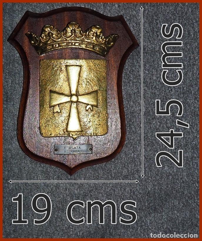 220/666..F74 FRAGATA ASTURIAS.....MIDE 24,5 X 19 CMS....PESA 1, 800 KGS. (Militar - Reproducciones, Réplicas y Objetos Decorativos)