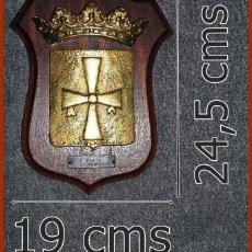 Militaria: 220/666..F74 FRAGATA ASTURIAS.....MIDE 24,5 X 19 CMS....PESA 1, 800 KGS.. Lote 222087616
