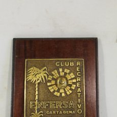 Militaria: METOPA ENFERSA - CLUB RECREATIVO DE CARTAGENA. Lote 222625726