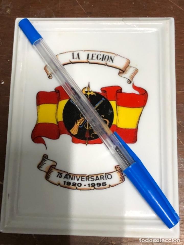 PLATO CONMEMORATIVO 75 AÑOS DE LA LEGIÓN. 1920-1995. (Militar - Reproducciones, Réplicas y Objetos Decorativos)