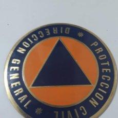 Militaria: PLACA DE DIRECCIÓN GENERAL DE PROTECCIÓN CIVIL. Lote 224005333