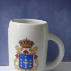 Militaria: JARRA DE PORCELANA,,BUQUE DE ASALTO ANFIIBIO GALICIA.... Lote 224251340