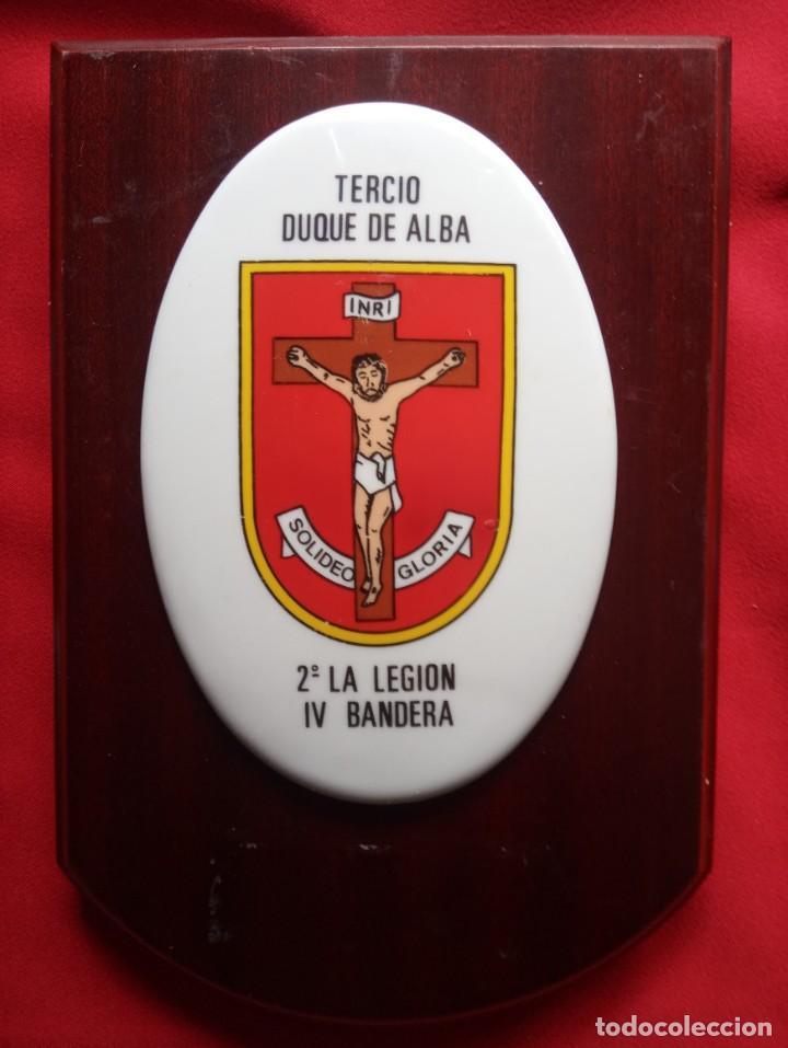 METOPA DE LA LEGIÓN, TERCIO DUQUE DE ALBA (Militar - Reproducciones, Réplicas y Objetos Decorativos)
