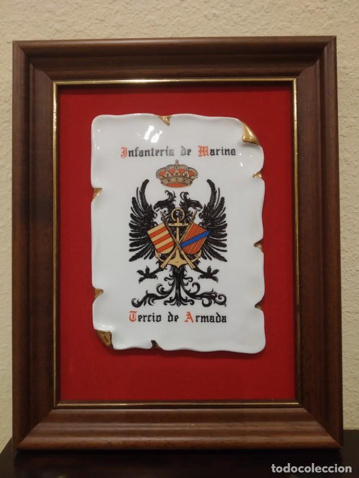 METOPA TERCIO ARMADA -TEAR- INFANTERÍA DE MARINA, SAN FERNANDO (Militar - Reproducciones, Réplicas y Objetos Decorativos)