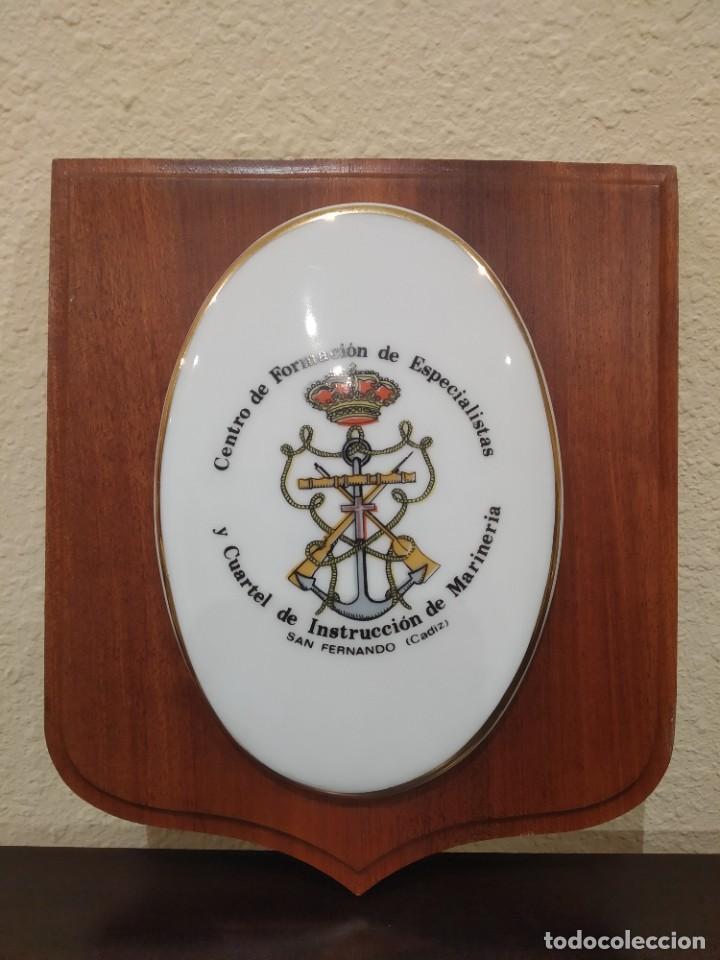 METOPA CENTRO DE FORMACIÓN DE ESPECIALISTAS Y CUARTEL DE INSTRUCCIÓN DE MARINERÍA (CIM SAN FERNANDO) (Militar - Reproducciones, Réplicas y Objetos Decorativos)