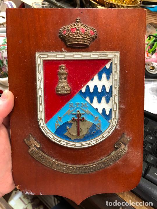 METOPA MILITAR UNIDAD DE LA RED TERRITORIAL DE MANDO - MEDIDA 23X16 CM (Militar - Reproducciones, Réplicas y Objetos Decorativos)