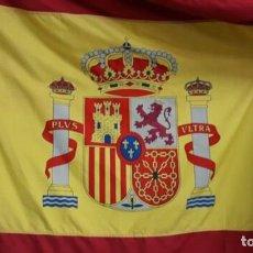 Militaria: BANDERA DE ESPAÑA.300 X 100 CM.DE EPOCA.. Lote 227710765