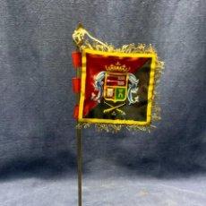 Militaria: BANDERIN REGIMIENTO DE ARTILLERIA CEUTA N 30 27,5X6,5CMS. Lote 228737800