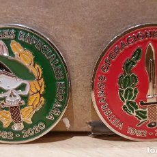 Militaria: MONEDA VETERANOS OES. Lote 232917210