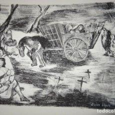 Militaria: ANTIGUO GRABADO DE JUNIO 1940 BATALLA DE FRANCIA TEMATICA ALEMANIA NAZI SEGUNDA GUERRA MUNDIAL. Lote 236889275